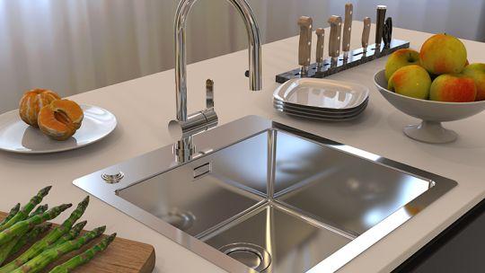 PURE UP skupina sudopera nadgrađena je s...